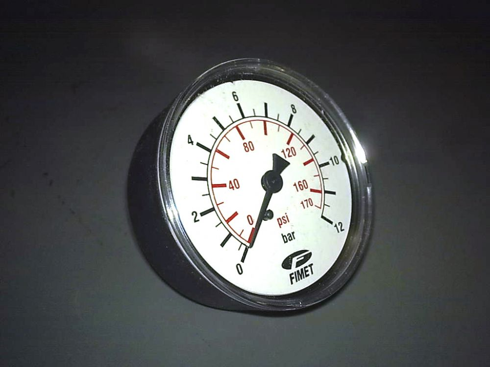6 Bar Pressure Gauge For All Water Applications